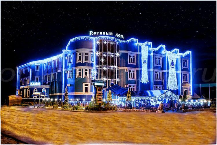 Гостиный дом, гостинично-развлекательный комплекс, сауна